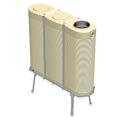 1140 Litre Modular Corrugated Slimline