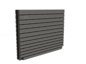 1000 Litre Thin Tank Slate Grey
